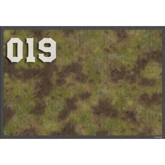 """Игровой мат """"ТРАВА"""" для любой игровой системы (Warhammer, Warmachine, Malifaux, Infinity и другие)"""