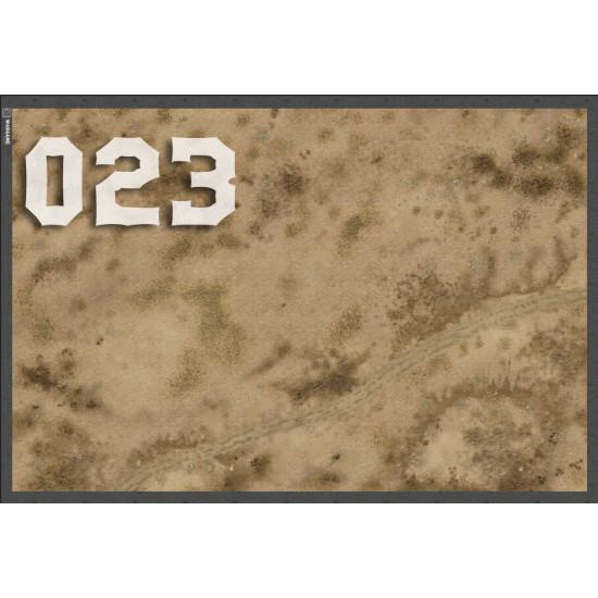"""Игровой мат """"Пески и пересеченная местность"""" для любой игровой системы (Warhammer, Warmachine, Malifaux, Infinity и другие)"""