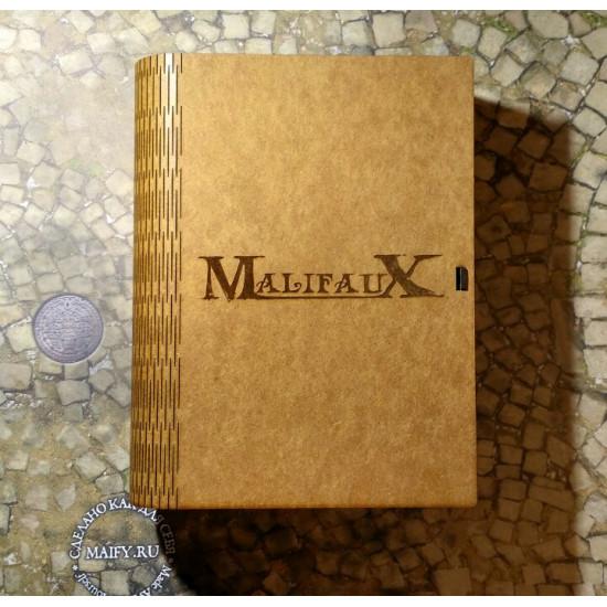 Книга-бокс Malifaux с гравировкой