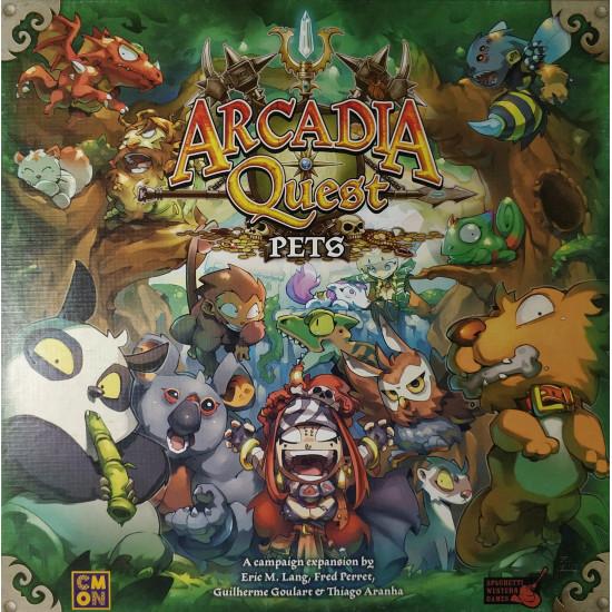 """Орг для """"Arcadia Quest Pets"""""""
