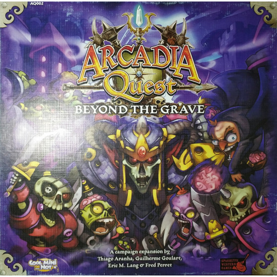 "Орг для ""Arcadia Quest. Beyound the grave"""
