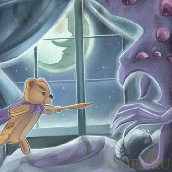"""Кисет для """"Плюшевые сказки""""  (Stuffed Fables)"""