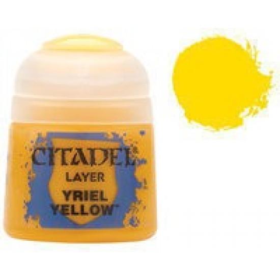 Стандартная краска Yriel Yellow, 22-01
