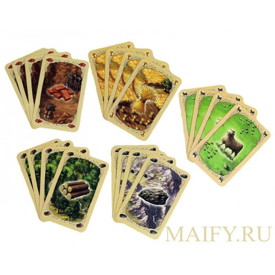 CATAN. Board game.