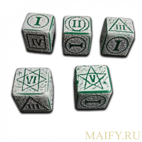 "Dice  ""Witcher"" D6 16 mm"