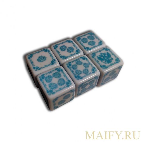 """Кубики """"Ужас Аркхэма"""" благословенные. Maifydesign."""
