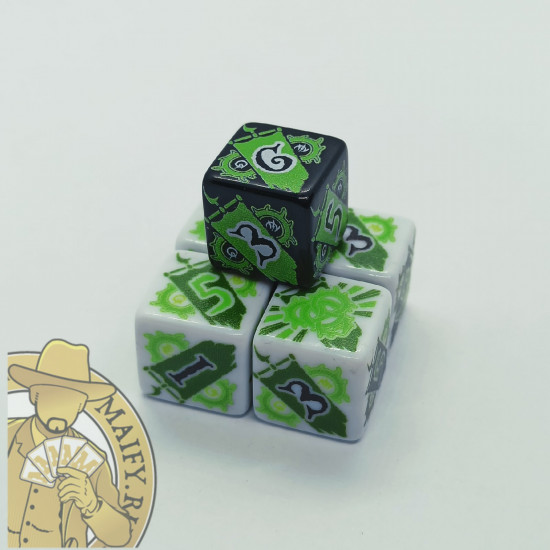 Faction dice for Circle Orboros