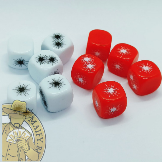 Dice for Warcaster neo-mechanika